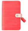Pink Stitched Stripe Binder