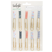 Paper Clips Flags Embellishments - Twilight - 1Canoe2