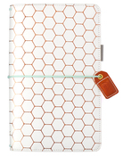 Copper Hexagon Traveler - Websters Pages - PRE ORDER