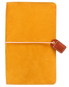 Mustard Suede Traveler - Websters Pages