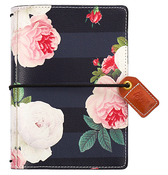 Black Floral Pocket Traveler - Websters Pages