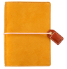Mustard Suede Pocket Traveler - Websters Pages