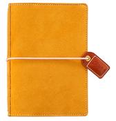 Mustard Suede Pocket Traveler - Websters Pages - PRE ORDER