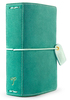 Aspen Green Suede Pocket Traveler - Websters Pages