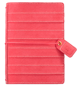 Pink Stitched Stripe Pocket Traveler - Websters Pages