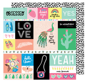 Officially Obsessed Paper - Sunshine & Good Times - Amy Tangerine