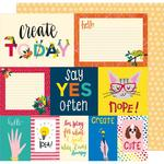 Say Yes Often Paper - Box Of Crayons - Shimelle - PRE ORDER