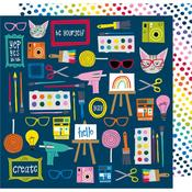 Make Something Paper - Box Of Crayons - Shimelle