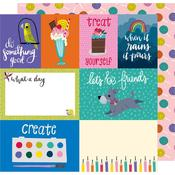Treat Yourself Paper - Box Of Crayons - Shimelle