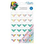 Shimelle Box Of Crayons Corner Embellishments