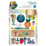Shimelle Box Of Crayons 8 Page Sticker Book