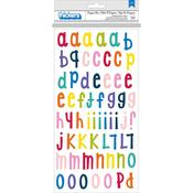 Alphabet Multi Chipboard - Box Of Crayons - Shimelle