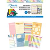 Shimelle Box Of Crayons 6 x 8 Writing Pad