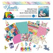 Box Of Crayons 12 x 12 Paper Pad - Shimelle