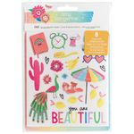 Holographic Foil Sticker Book - Sunshine & Good Times - Amy Tangerine