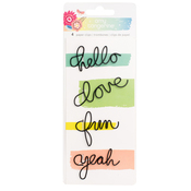 Wire Word Paper Clips - Sunshine & Good Times - Amy Tangerine