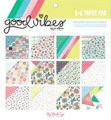 Good Vibes 6 x 6 Paper Pad - My Minds Eye