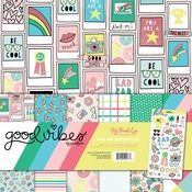 Good Vibes Paper & Accessories Kit - My Minds Eye