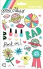 Good Vibes Puffy Stickers - My Minds Eye