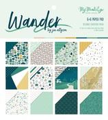 Wander 6 x 6 Paper Pad - My Minds Eye