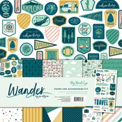 Wander Paper & Accessories Kit - My Minds Eye