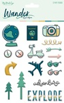 Wander Puffy Stickers - My Minds Eye
