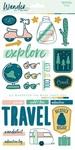 Wander Sticker Sheet - My Minds Eye