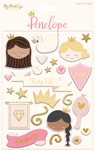Penelope Puffy Stickers - My Minds Eye