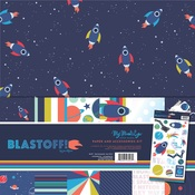 Blast Off Paper & Accessories Kit - My Minds Eye