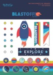 Blast Off Decorative Brads - My Minds Eye