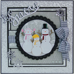 Snowman Family - Tonic Studios Rococo Christmas Die
