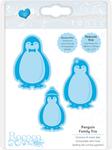 Penguin Family - Tonic Studios Rococo Chirstmas Trio Die Set