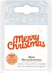 Wave Merry Christmas - Tonic Studios Mini Moments Die