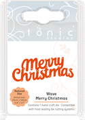 Wave Merry Christmas - Tonic Studios Mini Moments Die