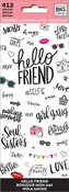 Hello Friend Stickers - Me & My Big Ideas Stickers
