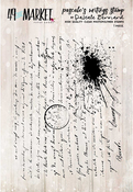 """Pascale's Writings - 49 And Market Clear Stamps 3""""X4"""""""