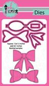 Medium Bow - Pink And Main Dies