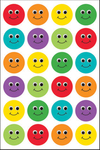 Smiley Face - Hygloss Themed Stickers 3/Pkg
