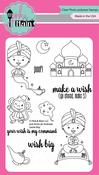 "Genie Boy - Pink & Main Clear Stamps 4""X6"""