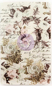 Floral & Script Personal Size Notebook Insert - Prima