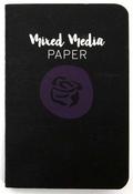 Mixed Media Paper Notebook Passport Size - Prima