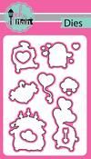 Hedgehugs - Pink And Main Dies