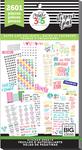 Dates & Holidays, 2601/Pkg - Happy Planner Sticker Value Pack