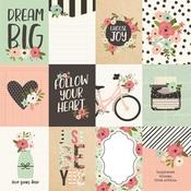 3x4 Elements Paper - Bloom - Simple Stories