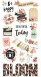 Bloom Chipboard Stickers - Simple Stories - PRE ORDER