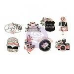 Summer Washi Stickers - PTJ - Prima - PRE ORDER