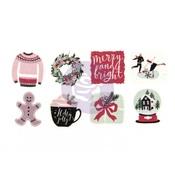 Winter Washi Stickers - PTJ - Prima - PRE ORDER