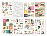 Good Vibes Sticker Sheet - Simple Stories - PRE ORDER