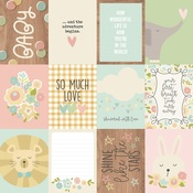 Journaling Card Elements Paper - Oh, Baby! - Simple Stories