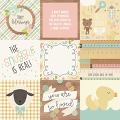 Elements Paper - Oh, Baby! - Simple Stories
